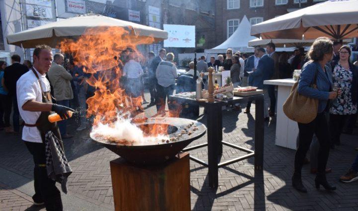 Heerlijk eten met optredens op Lekker Etten-Leur